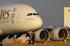 A6-EDE, London Heathrow, July 9th 2015 (Southsea_Matt) Tags: a6ede emirates airbus a380861 lhr egll londonheathrow unitedkingdom july 2015 summer canon 60d airport aircraft aviation airliner transport plane
