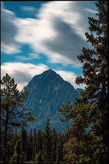 Window to the Natural World (greenschist) Tags: alberta mountains canada clouds 25seconds jaspernationalpark forest