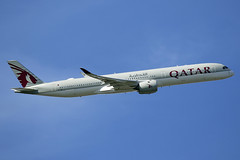 A7-ANC Qatar Airways Airbus A350-1041 departing London Heathrow on 13 May 2019 (Zone 49 Photography) Tags: aircraft airliner aeroplane may 2019 london england egll lhr heathrow airport qr qtr qatar airways airbus 350 a350 1041 a7anc