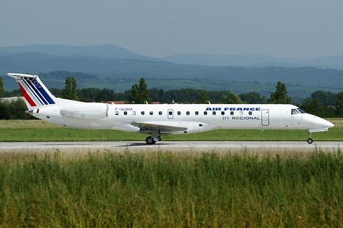 F-GUMA (cn 145405) Embraer EMB-145MP (ERJ-145MP) Air France (Regional Airlines)