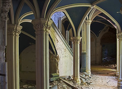 Chateau Noisy, Belgium (Julia Clay) Tags: abandoned urbex juliaclay derelict forgotten explore