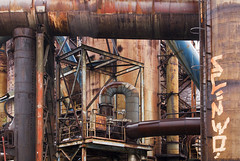 steel works, Czech republic (Julia Clay) Tags: abandoned urbex juliaclay derelict forgotten explore