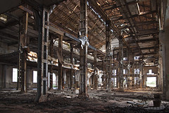 Factory near Alessandra, Italy (Julia Clay) Tags: abandoned urbex juliaclay derelict forgotten explore