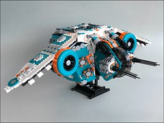 Heavy Starfighter (02) (_spacehopper_) Tags: lego moc spaceship space starfighter