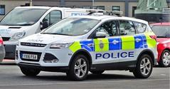 British Transport Police C61/93 Ford Kuga YX16 FSA Incident Response Vehicle (sab89) Tags: british transport police c6193 ford kuga yx16 fsa incident response vehicle