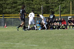 "KLEB0752 (bil_kleb) Tags: outdoor ""team sport"" ""field game"" sports actions sport youth boys men u19 virginia ""high school"" soccer tabb ths varsity"