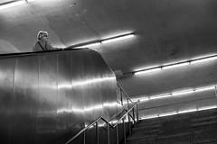untitled (gregor.zukowski) Tags: gdańsk gdansk street streetphoto streetphotography peopleinthecity candid blackandwhite blackandwhitestreetphotography bw urban stairs fujifilm