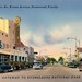 Downtown Homestead Florida Vintage Postcard