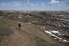 70 Mile Butte Trail - DSC_3463a (Markus Derrer) Tags: 70milebutte grasslands grasslandsnationalpark saskatchewan may markusderrer hikingtrail