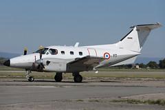 "Embraer Emb.121AA Xingu 103 'YT' EAT 00.319 ""Captain Jean Dartigues"" (Mark McEwan) Tags: embraer emb121aa xingu 103 eat00319 captainjeandartigues military aviation aircraft airplane orange orangecaritat arméedelair frenchairforce"