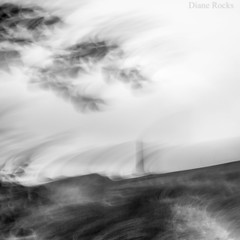 Expressing my View. Mono (Diane Rocks 3M views. Thank you) Tags: mono ramsbottom icm moorland peeltower canon 70200mm motion landscape view home