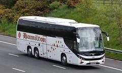 WJ19HRD  Hamilton, Uxbridge (highlandreiver) Tags: wreay wj19hrd wj19 hrd hamilton coaches uxbridge london beulas bus coach m6 carlisle cumbria