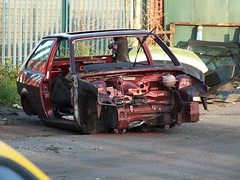 K827WFC (peeler2007) Tags: k827wfc vw volkswwagen polo vwpolo volkswagenpolo elv scrap scrapcar