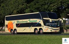 Mourãoense Turismo - 7000 (RV Photos) Tags: turismo bus onibus doubledecker br116 rodoviapresidentedutra mourãoenseturismo mercedesbenz marcopolo marcopolog7new paradiso1800dd