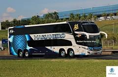 Massaneiro - 1515 (RV Photos) Tags: turismo bus onibus doubledecker br116 rodoviapresidentedutra massaneiro scania marcopolo marcopolog7new paradiso1800dd
