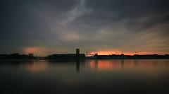 Rade de Lorient (Faouic) Tags: france bretagne morbihan lorient radedelorient leverdesoleil reflet réflection