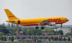 D-AEAS - Airbus A300B4-622R(F) - LHR (Seán Noel O'Connell) Tags: dhl europeanairtransport daeas airbus a300b4622rf a300 a306 heathrowairport heathrow lhr egll fra eddf bcs36a brianadams shinealighttour2019 cargo freightliner freight aviation avgeek aviationphotography planespotting