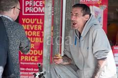 H510_2032-2 (bandashing) Tags: hyde tameside market civicsquare people street gmp police thief thieves shoplifters crime criminals highcrimerate steal stolengoods boots buy drugaddicts druggies sylhet manchester england bangladesh bandashing socialdocumentary aoa akhtarowaisahmed waif skeletal wastingaway roeneicenewby coffee bacon meatjoints toiletries
