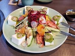 Vancouver Restaurants: SURA Korean BBQ (x3unice) Tags: vancouver vancouverfood foodie koreanfood salad tofu vegetarian