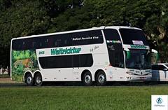 Waltricktur - 2003 (RV Photos) Tags: bus onibus doubledecker turismo br116 rodoviapresidentedutra waltricktur scania marcopolo marcopolog6 paradiso1800dd