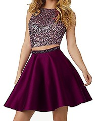 Maroon 2 Piece Prom Dress Shop Now   Prom Dress Hut (promdressesjvn) Tags: jovani prom dress pageant dresses sexy night gown uk