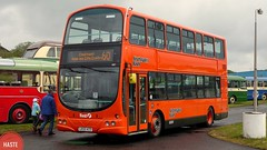 First Glasgow (Haste Ye Back) Tags: lk55aco firstglasgow firstbus wrightbus wrighteclipsegemini first32657