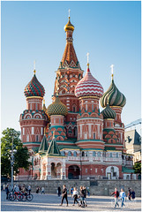Postcard Greetings From Moscow (RudyMareelPhotography) Tags: ivantheterrible moscow natgeotravel redsquare rudymareelphotography russia russianarchitecture stbasil'scathedral architecture leica lfi ngc wanderlust flickrclickx flickr
