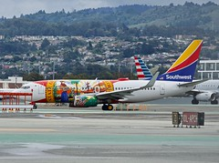 Florida One. Southwest Airlines 2010 Boeing 737-700 N945WN c/n 36660 at San Francisco Airport 2019. (17crossfeed) Tags: southwestairlines swa n945wn 36660 boeing sfo sanfranciscoairport airport aviation aircraft airplane pilot planes planespotting plane landing deltaairlines americanairlines claytoneddy 17crossfeed 737 737700