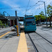 An Angular Look at the Seattle Streetcar Leaving the Station