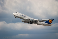 Lufthansa Boeing 747-400 D-ABVA LAX Departure (Zaid Al-Ahmar) Tags: boeing747400 departure lax lufthansa scrapped