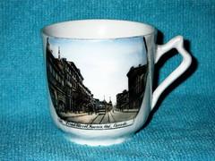 Mini Souvenir Mug, Front Street, Sarnia, ON (snap-happy1) Tags: sarnia lambton county ontario canada mini souvenir mug front street ceramics