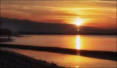 Il Pescatore (Gio_guarda_le_stelle) Tags: seascape sunset fisherman sea tramonto cielo sky pescatore favola fairytales reflection sunbeam flare seaside quiet atmosphere
