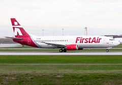 C-FNFF First Air B734 (twomphotos) Tags: bestofspotting plane spotting yul cyul departure rwy06r 24l first air firstair boeing b734