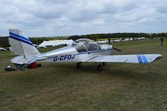 G-CFDJ Evektor EV-97 Eurostar (graham19492000) Tags: pophamairfield gcfdj evektor ev97 eurostar
