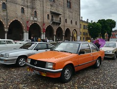 1977 Opel Rekord E1 2.0N (Giulio Pedrana - La Tenaglia Impazzita) Tags: opelfans opel vintagecars raduniautostoriche mantova
