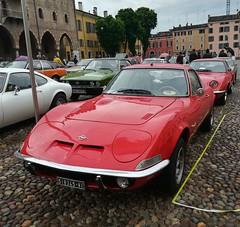 Opel GT (Giulio Pedrana - La Tenaglia Impazzita) Tags: opelfans opel vintagecars raduniautostoriche mantova