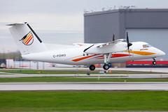 C-FDWO Air Creebec Dash8 (twomphotos) Tags: plane spotting yul cyul departure rwy06r air creebec dash8