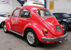 AWW 155G (Nivek.Old.Gold) Tags: 1969 volkswagen beetle 1500 aca
