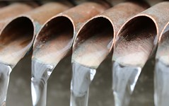 Aqueduct (francepar95) Tags: macromondaysandcopper macromondays copper fountain water garden theme week challenge macro pipes hmm