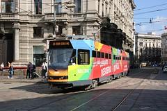Just Eat On Line 16! (crashcalloway) Tags: aziendatrasportimilanesi atm series4900 line16 tram milan milano publictransport piazzacordusio italy italia