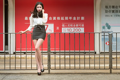 Avril (Francis.Ho) Tags: avril xt2 fujifilm girl woman female femme lady portrait people beauty pretty lips eyes hair face elegant glamour young sensuality fashion naturallight chinese daylight sunlight outdoor model highheels legs
