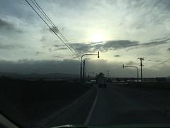 Windy, Dusty Day (sjrankin) Tags: 20may2019 edited kuriyama yuni wind clouds haze dust weather