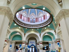 Belfast Tesco Metro on Monday 20th May 2019, the first day of reopening since Bank Buildings Fire of Tuesday 28th August 2018 (John D McDonald) Tags: iphone appleiphone iphonexr appleiphonexr northernireland ni ulster geotagged belfast royalavenue herculesstreet provincialbank tesco tescometro belfasttesco belfasttescometro dome
