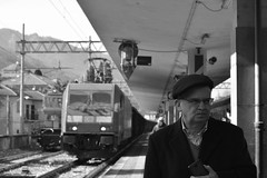 stresa #6 (train_spotting) Tags: stresa lineadelsempione dbcargoitaliasrl lenord ferrovienordmilano nordcargo traxxf140dc e4831075nc bombardier nikond7100