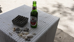 Bintang by the beach: Gili Trawangan (Veeds) Tags: indonesia lombok gili trawangan islands food drink beer bintang