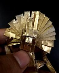 ORIGAMI - VIRACOCHA/ INCA GOD OF CREATION (Neelesh K) Tags: origami inca god creation supreme vircacocha