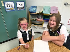 Preschool buddies: Our last day playing with our preschool buddies! (st.brigid2) Tags: