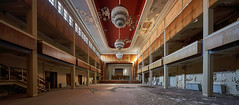 No Ball (Arx Zyanos) Tags: sony a7riii ilce7rm3 a7rmk3 voigtländer hyper wide heliar 10mm fullframe wideangle lostplace abandoned past pasttimes hotel ball hall ballroom architecture