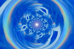 All over the rainbow (Emmanuelle Baudry - Em'Art) Tags: arcenciel rainbow blue bleu blanc white fractal composition couleur colour ciel sky cloud compostion nuage art artwork abstract abstrait artnumérique artsurreal digitalart dream rêve vision spiritualité spirituality spacetime spiral spirale espacetemps emmanuellebaudry emart