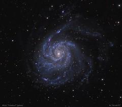 M101 Pinwheel Galaxy (Roberto_Mosca) Tags: m101 pinwheel galaxy galassia astronomia astronomy wo flt132 qhy367c deepsky girandola